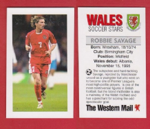Wales Robbie Savage Birmingham City